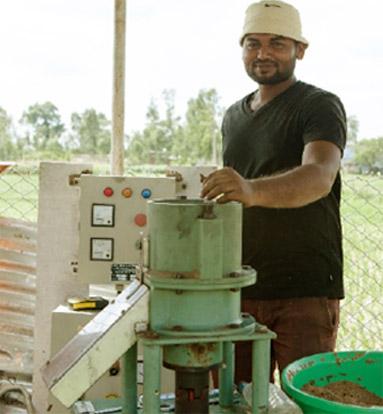 >Pellet Manufacturing