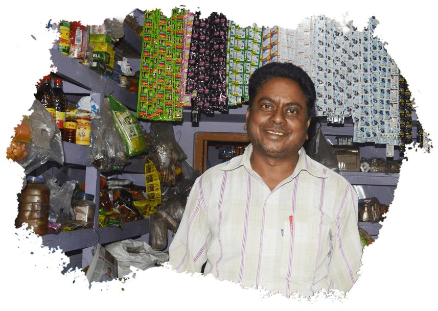 Kirana Shop Owner
